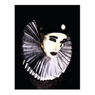 Carte Postale Pierrot