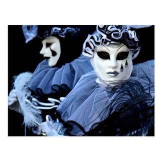 Carte Postale Pierrot triste.
