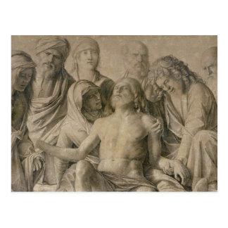 Carte Postale Pieta, le Christ mort