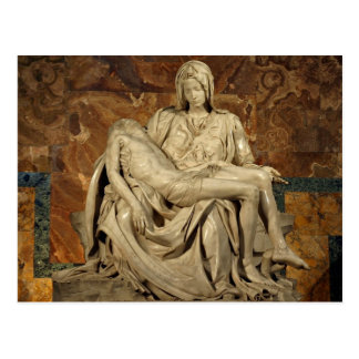 Carte Postale Pieta par Michaël Angelo