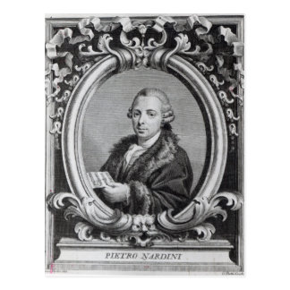 Carte Postale Pietro Nardini, gravé par G. Batta Cechi