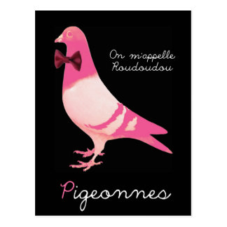 Carte Postale Pigeonnes - On m'appelle Roudoudou