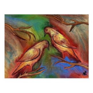 Carte Postale Pigeons