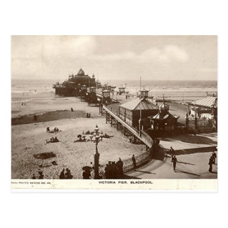 Carte Postale Pilier de Blackpool, Victoria