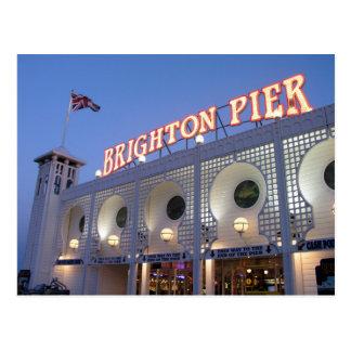 Carte Postale Pilier de Brighton, le Sussex, R-U