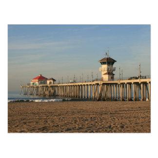 Carte Postale Pilier de Huntington Beach