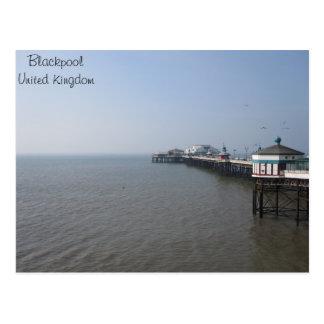 Carte Postale Pilier de nord de Blackpool