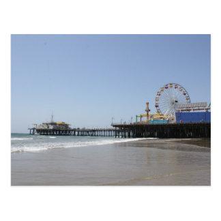 Carte Postale Pilier de Santa Monica