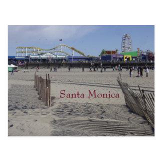 Carte Postale Pilier la Californie de Santa Monica