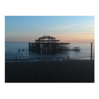 Carte Postale Pilier occidental Brighton