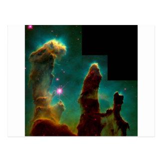 Carte Postale Piliers de création - image de télescope spatial