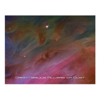 Carte Postale Piliers de la poussière, image de télescope de