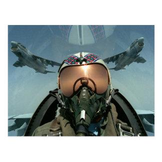 Carte Postale Pilote de l'Armée de l'Air