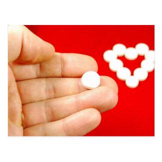 Carte Postale Pilule d'amour