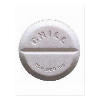 Carte Postale Pilule froide