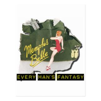 Carte Postale Pin de belle de Memphis