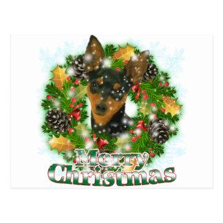 Carte Postale Pin de minute de Joyeux Noël