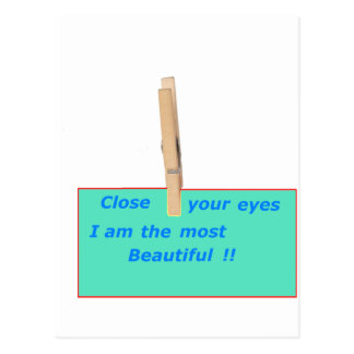 CARTE POSTALE PINCE A LINGE MOST BEAUTIFUL 1.PNG
