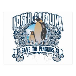 Carte Postale Pingouin la Caroline du Nord