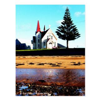 Carte Postale Pingouin, Tasmanie