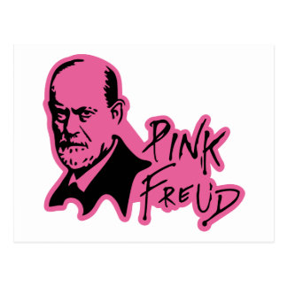Carte Postale PINK FREUD Psychoanalysis Sound Edition