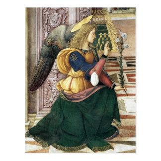 Carte postale Pinturicchio de Noël d'ange de la