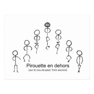 Carte Postale Pirouette (2èmes)
