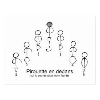Carte Postale Pirouette (4èmes)