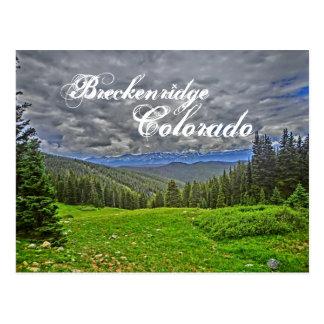 Carte postale pittoresque de Breckenridge le