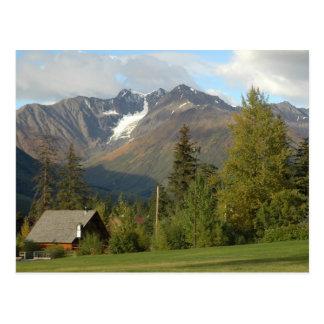 Carte postale pittoresque de l'Alaska