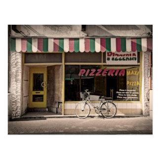 Carte Postale Pizzeria