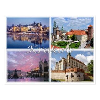 Carte Postale PL Pologne Polska - Cracovie -