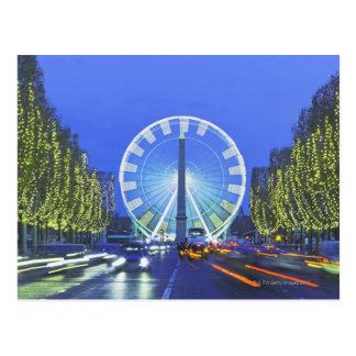 Carte Postale Place de la Concorde