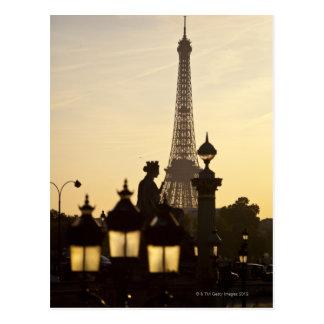 Carte Postale Place de la Concorde, le plus grand carré de la