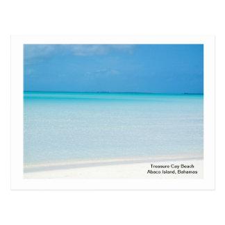 Carte Postale Plage de banc de sable de trésor