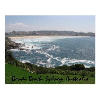 Carte Postale Plage de Bondi, Sydney, Australie