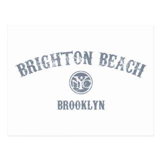 Carte Postale Plage de Brighton