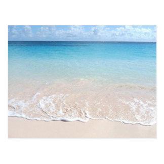 Carte Postale Plage de coude, Bermudes