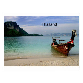 Carte Postale Plage de la Thaïlande dans Krabi (St.K)