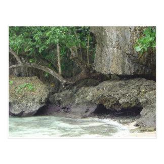 Carte Postale Plage de lave de la Guam