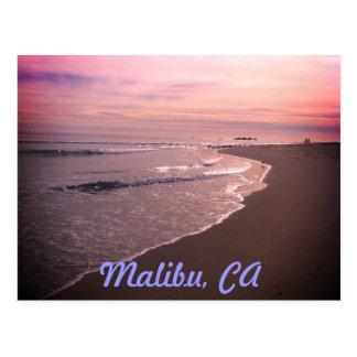Carte Postale Plage de Malibu