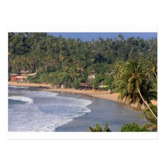 Carte Postale Plage de Marissa, Sri Lanka