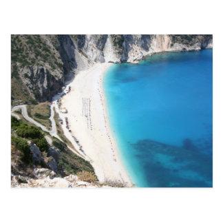 Carte Postale Plage de Myrtos, Kefalonia