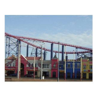 Carte Postale Plage de plaisir, Blackpool
