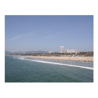 Carte Postale Plage de Santa Monica
