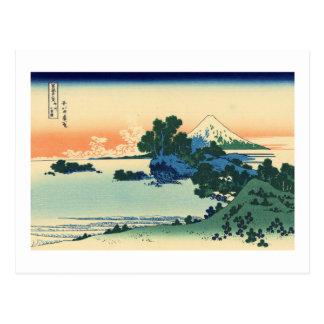 Carte Postale Plage de Shichiri dans la province de Sagami