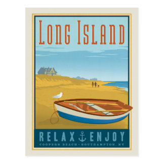 Carte Postale Plage de tonneliers du Long Island |,