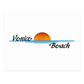 Carte Postale Plage de Venise