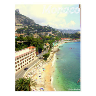 Carte Postale Plage du Monaco