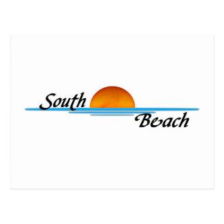 Carte Postale Plage du sud